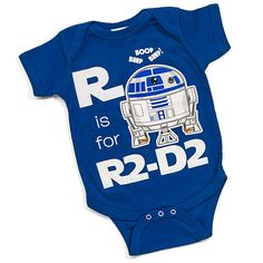 This R2-D2 Baby Outfit Helps Little Ones Learn Their ABCs #baby #fashion trendhunter.com
