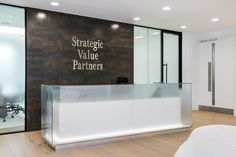Reception at SVP Global offices in London