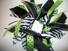 Cheer Style - LITTLE DIVA Cheer Style Ribbon Ponytail Holder. $6.50, via Etsy.