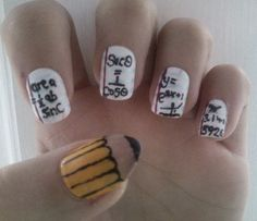Even more math nails - lots of trig.