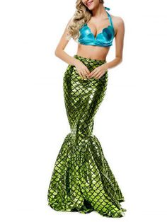 GET $50 NOW | Join RoseGal: Get YOUR $50 NOW!http://m.rosegal.com/cosplay-costume/shiny-maxi-scalloped-mermaid-cosplay-670574.html?seid=6894485rg670574