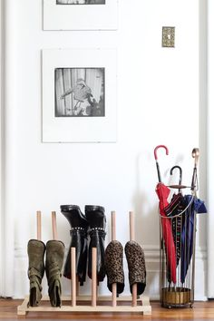 We think of entryways as functional first, where incoming mail, coats, groceries, and other clutter comes to rest. It's often not a pretty sight — which is a total bummer when it's the first thing you see coming home. Instead of sighing and averting your eyes each time, find ways to make your entryway prettier, more organized, and inviting.
