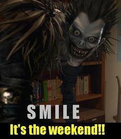 death note ryuk quotes - Google Search  (What the...?)