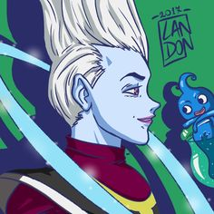 Whis from DragonBall Super