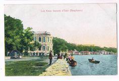 Turkey / Constantinople - Eaux Douces d'Asie - Arct. Armenian Nigogos Balyan