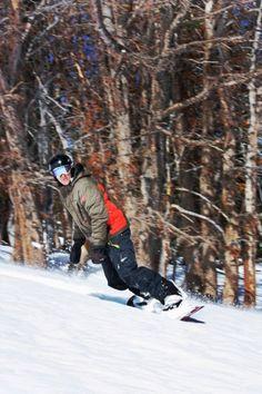 snowboarding at Big Sky Resort, Montana