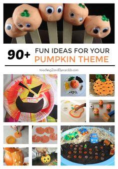 826 Best Pumpkin Theme Images On Pinterest Preschool