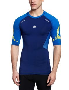 1cd4f22ee adidas Techfit Preparation Men s Short-Sleeved Shirt  Amazon.co.uk  Sports    Outdoors