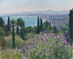 Albert MARQUET (1875-1947), La Baie d'Alger, ca. 1921, huile sur carton, 33 x 41 cm. © MuMa Le Havre / Charles Maslard — © ADAGP, Paris, 2015
