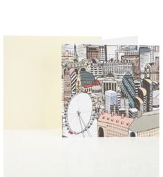 Graphic London Blank Greetings Card | M&S