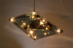 Maxhedron Chandelier, by Bec Brittain, NYC. In Hong Kong, exclusively at DeeM