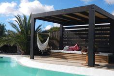 Petit Paradis Villa con piscina.La Oliva,Fuerteventura Agra, Canario, Jacuzzi, Outdoor Furniture, Outdoor Decor, Hammock, Villa, Patio, Board