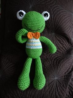 Ravelry: Project Gallery for Felix the Frog pattern by Mari-Liis Lille