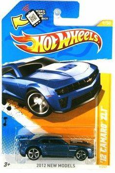 2012 Hot Wheels New Models '12 Camaro ZL1 (Blue) #9/247 by Mattel. $0.01