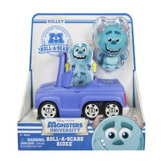 "Disney Pixar Monsters University - Roll A Scare Ridez - Sulley - Spin Master - Toys ""R"" Us"