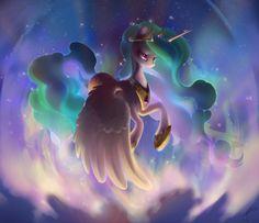 Princess Celestia by Celebi-Yoshi.deviantart.com on @deviantART