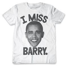 I Miss Barry at PrintLiberation.com #imissbarry #imissobama #obama #printliberation #raiseyourvoice