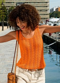 Wooling Issue 4 - #10 Lacework top  Patterns