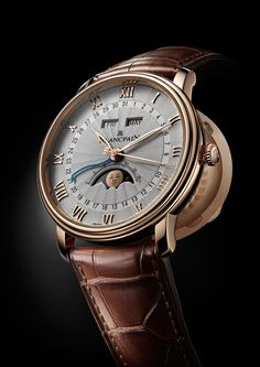 Blancpain Villeret Collection http://alwaysfashion.com/p/193/villeret-complete-calendar-8-jours/206