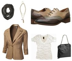 Fun fall casual - mens-inspired Pikolino shoe.  Love this look.
