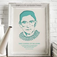 Simplicity is everything. Take a moment, enjoy this Tuesday, and when all seems wrongask yourself WWRBGD.  #RBG #notoriousrbg #ginsburg #ruthbader #ruthbaderginsburg #lawschoollife #lawschool #lawstudent #Lawofficedecor #lawoffice #simplicity #wallart #walldecor