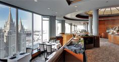 Enjoy a breathtaking view of downtown Salt Lake City during an elegant, fine dining experience at The Roof Restaurant. View our menu or make a reservation. The Roof Restaurant, Dining Buffet, Temple Square, Slc, Salt Lake City, Fine Dining, Utah, Menu, Elegant