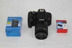 Canon EOS Rebel T5i DSLR 18MP Camera w/ 18-55mm IS STM Lens  Black 8595B003