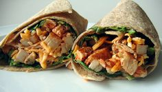 Buffalo chicken wrap.