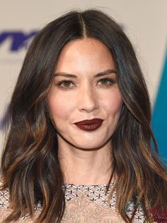 The Best Beauty Looks from the 2017 MTV VMAs Red Carpet - Olivia Munn from InStyle.com