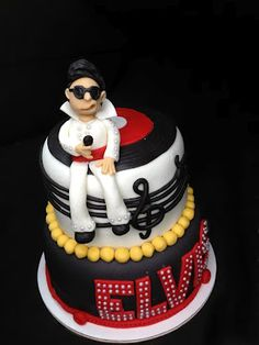 Layers of Love: Elvis Cake