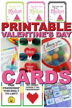 No matter who you are wanting to bless this year, these printable Valentines Day cards are a great way to show someone you care. Printable Valentines Day Cards, Valentines Food, Valentine Crafts, Fun Crafts For Kids, Activities For Kids, Diy Valentine's Mailbox, Valentine Decorations, Family Kids, Kid Friendly Meals