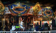 The carousel at Old Orchard Beach
