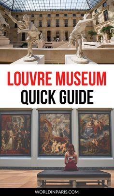 This ultimate Louvre Museum guide comes with the latest information and best tips for visiting the Louvre for the first time #louvre #paris Travel Tips For Europe, Paris Travel Guide, Travel Guides, Travel Destinations, Travel Abroad, Asia Travel, Paris Things To Do, France Photography, Visit France