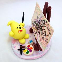 Hobby Series: Artistic PAINTING Parker Figurine by KatersAcres