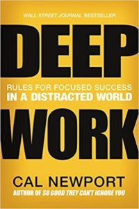 Deep Work -- Focus Book == Stop distractions to accomplish more. This book is one of the 15 best books to help you deal with the distraction of procrastination. See all the books on procrastination: https://www.developgoodhabits.com/books-on-procrastination/ self help books | personal growth books | self improvement books | must read books | nonfiction books | nonfiction book lists
