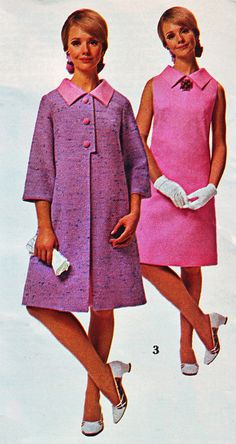 All sizes | Spiegel 1967 sale pink dress coat | Flickr - Photo Sharing!  Cay Sanderson.