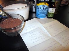 Cocoa: Homemade Chocolate Syrup Recipe w/Printable Label {Pantry Staples}