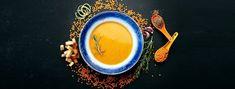 Une soupe express patate douce, curry, lentilles corail