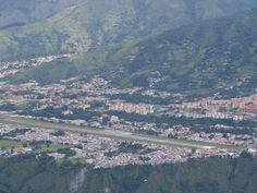 La ciudad de Mérida en Venezuela, sobre una hermosa meseta.