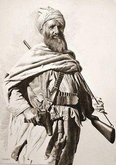 Pashtun Warrior Afghanistan Anglo Afghan War