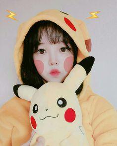 Uzzlang Girl, Art Girl, I Love Girls, Cute Girls, Cosplay Kawaii, Kawaii Makeup, Cute Korean Girl, Cute Poses, Pretty Asian