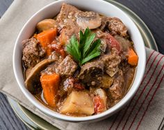 It's pretty cold in most of the country, and that means we're dealing with the dreaded winter blues that only a bowl of hot comfort food can cure. Our favorite go-to meal this time of year is a classic beef stew made with hearty beef, … Beef Pot Roast, Pot Roast Recipes, Beef Recipes, Cooking Recipes, Freezer Recipes, Cooking Ideas, Recipies, Healthy Food List, Healthy Crockpot Recipes