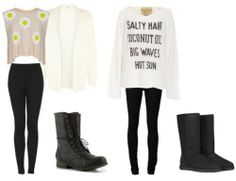 Beautiful Ariana Grande Inspired Outfits. Nix the uggs and you're good to go!