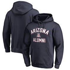 Arizona Wildcats Fanatics Branded Big & Tall Team Alumni Pullover Hoodie - Navy