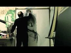 """Heer"" Charcoal on Paper by Khalid Khan-KAAY - YouTube"