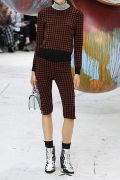 GANNI - Loras Embellished Jacquard-knit Turtleneck Sweater - Brick - small
