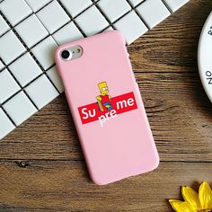 Supreme Simpson Mickey Mouse Superman cat Finger matte Hard PC Phone Cases For iPhone 5 5s se 6 6s Plus 7 7Plus Coque Cover case