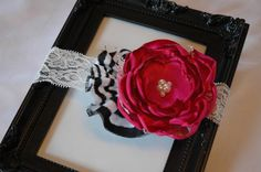 This headband was named after my Granddaughter (Kenzli)! Thanks FaithLove Kreations!! It's Beautiful!!