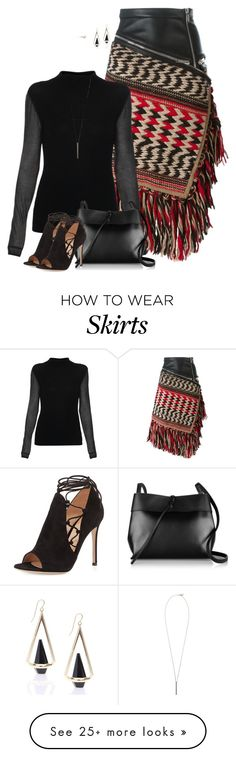 """Street style"" by janemichaud-ipod on Polyvore featuring Dsquared2, Elie Tahari, Gianvito Rossi, Kara and French Connection"