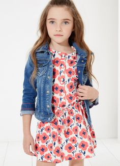 Pepe Jeans colecciones de moda para niños y niñas > Minimoda.es Teen Girl Fashion, Little Girl Fashion, Little Girl Dresses, Toddler Fashion, Kids Fashion, Girls Dresses, Girls Summer Outfits, Cute Outfits For Kids, Summer Girls